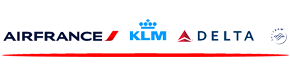 Delta,KLM,Air France Airlines Logo