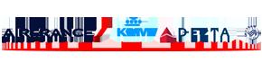 Delta,KLM,Air France Airlines Logo
